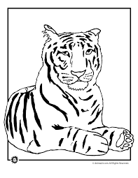 Small Picture Tiger Coloring Pages Coloring Coloring Pages