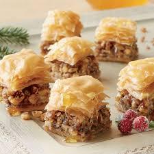 Miniature Baklava Desserts   Swiss Colony