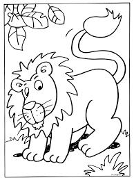 Kleurplaat Leeuw Kleurplatennl Zoo Animals Dierentuin
