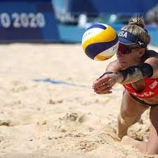 Olympic Beach Volleyball Player April ...