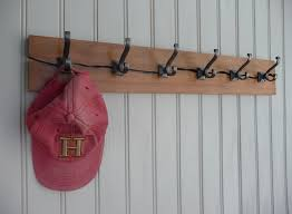 Handmade Coat Rack handmade hat coat racks Hooked on Hooks 26
