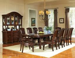 Dining Room Table Sets Leather Chairs Collection Custom Ideas