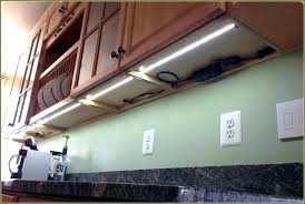 under cabinet led tape light kitchen strip lighting s installing counter lights