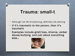 Image result for trauma strings