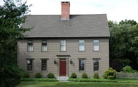 The Colonial Colonial Exterior Trim And Siding The - House exterior trim