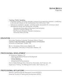 Education In Resume Examples Examples Of Resumes