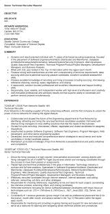 Technical Recruiter Resume Sales Technical Lewesmr