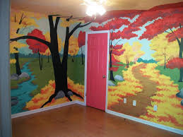 tekoa s boxcar children s room i would charge 600 for a 4 wall mural of this