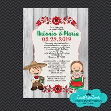 Traditional Wedding Invitations Invitaciones De Boda Estilo