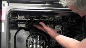Hotpoint Oven Heating Element Replacement How To Replace The Grill Element In Your Oven Youtube
