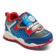 Thomas The Train Light Up Sandals Toddler Boys Thomas The Tank Engine Sneakers Grey 7
