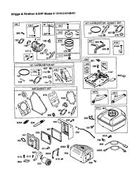 Briggs and stratton lawn mower engine parts diagram diagram