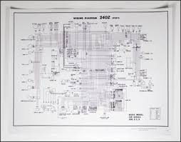 240z wiring kit 240z image wiring diagram motorsport 240z wiring schematic poster the z store nissan on 240z wiring kit