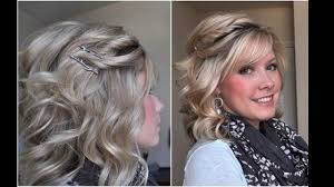 Coiffure Pour Mariage Cheveux Mi Long Youtube