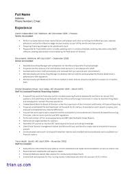 Accountant Resume Summary Resume Template