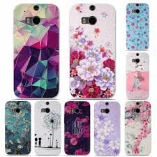 Htc M8 Designer Case Silicone Cover For Htc One M8 Case Luxury 3d Relief Printing
