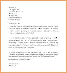 Example Of Counter Offer Job Counter Offer Letter Example Proposal Quintessence