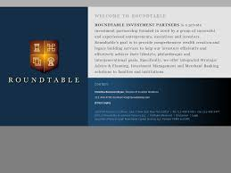 roundtable investment partners website history