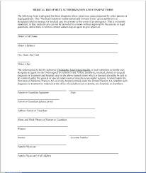 Medical Release Form Template Of Liability Printable Sample And ...