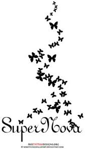 Small Picture Amazing Tribal Butterfly Tattoo Design Small And Simple Butterfly