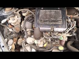 2005 TOYOTA YARIS 1.4 D4D ENGINE - YouTube