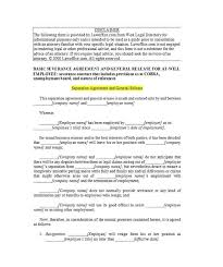 43 Official Separation Agreement Templates / Letters / Forms ...