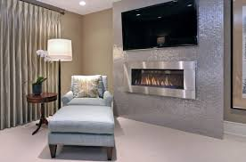 View in gallery Vented gas fireplace perfect for the modern home