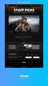 Vimeo Design Vimeo Redesign On Behance