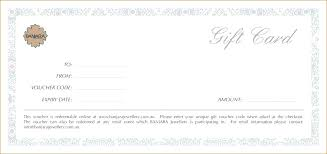 Create A Voucher Template Gift Certificate Templates To Make