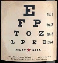Eye Chart Pinot Noir