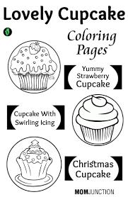 Top 25 Free Printable Cupcake Coloring