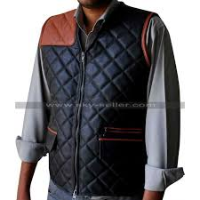 Governor Walking Dead Shooting Quilted Vest & The Governor Walking Dead Shooting Quilted Vest Adamdwight.com