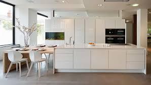 multi functional kitchen island pure white caesarstone