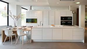 multi functional kitchen island pure white caesarstone