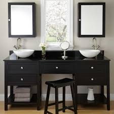 amazing bathroom vanity with makeup table for your bathroom design double sink bathroom vanity with