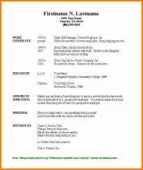 Basic Resume Template Free New Simple Resume Template Free Blank Templates Microsoft 40 40 Basic 40