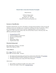 Great Retail Resume Examples resume Good Retail Resume 18