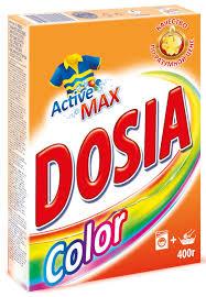 """<b>Стиральный порошок Dosia</b> """"<b>Color</b>. Active3"""", 400 г — купить в ..."""