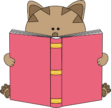 Image result for cat reading book