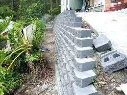 cinder block garden wall concrete garden wall concrete garden wall awesome build concrete retaining wall awesome