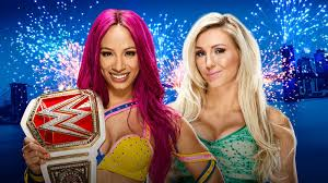 wwe announces sasha banks vs charlotte for women s le at summerslam