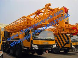 Xcmg 100 Ton Heavy Folding Boom Truck Crane Qy100k I From