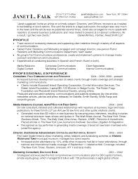 Public Affairs Officer Sample Resume