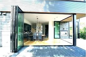 patio doors folding door accordion cost glass large do