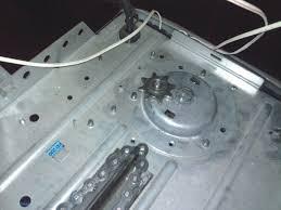 chain keeps popping off sprocket on garage door opener motor diy garage door chain broke layout
