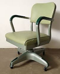 Vintage metal office chair Metal Frame Vintage Metal Allsteel Equipment Swivel Office Desk Chair Mcm Pinterest Vintage Metal Allsteel Equipment Swivel Office Desk Chair Mcm