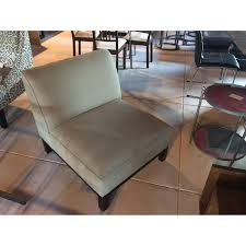 Slipper Chair Crate Barrel Slipper Chair Aptdeco