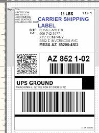 A ups account number is not required for creating online labels because ups internet shipping can be billed to a payment card such as a debit or a credit card (where applicable). Shipping Label Templates Word Ups Shipping Label Template Word Printable Label Templates Label Templates Address Label Template