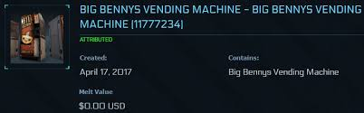 Big Bennys Vending Machine Amazing Jorunn Star Citizen On Twitter Big Benny's Vending Machines Are In