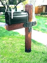 mailbox post design ideas. Wooden Mailbox Post Home Depot Wood Posts Double Plans  Design Ideas
